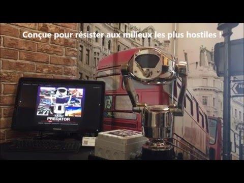 Nouvelle Caméra PREDATOR HD ultra-robuste en acier inox de 360 Vision