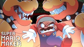 THIS IS PURE TORTURE NOW!! [SUPER MARIO MAKER] [#141]
