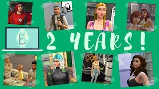 Two Years of Bree Simulated | Channel-versary | Q&A, FIRST BUILD/VIDEO, GOALS |
