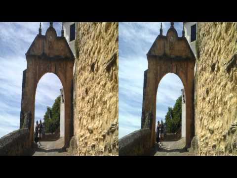 Casco Historico de Ronda. 3D SBS HD