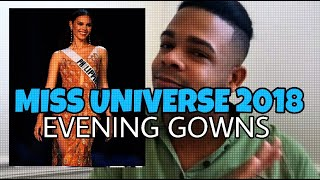 Miss Universe 2018 - Evening Gowns (Analysis)