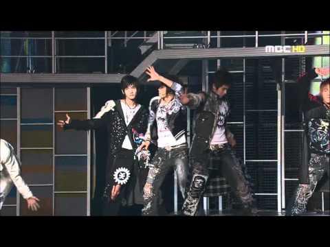 [HD]051225 TVXQ - Tonight+Rising Sun Live @ MBC Friendship Concert
