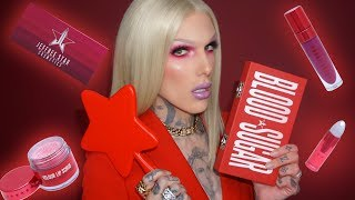 BLOOD SUGAR ❤️ PALETTE & LOVE SICK COLLECTION REVEAL | Jeffree Star Cosmetics