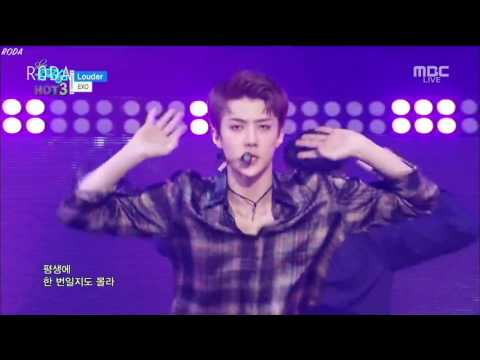 [1080p]엑소 로또 전체 무대 교차편집 EXO LOTTO all stage mix ver