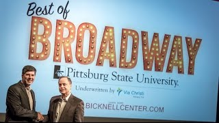 'Broadway coming to Pittsburg State University