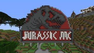 Jurassic Park Rollercoaster! [HD]
