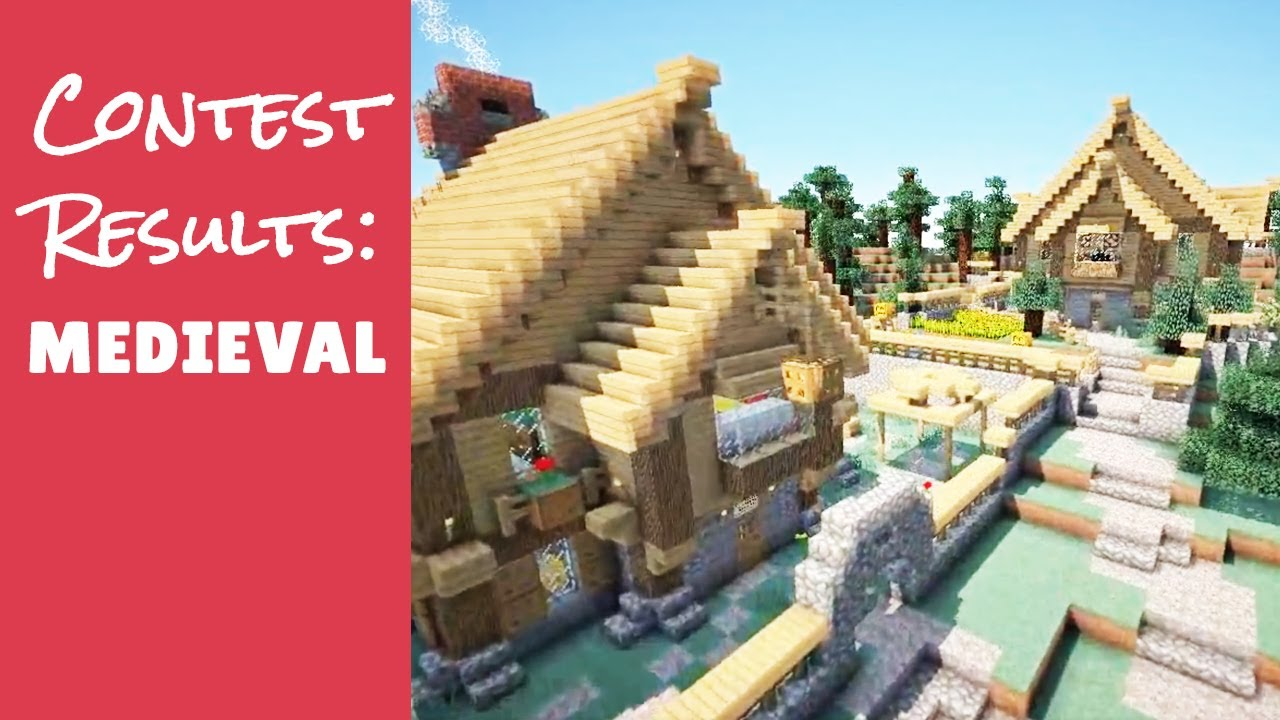 Minecraft Furniture Server Medieval Contest Youtube
