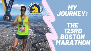 The 123rd running of the [BOSTON MARATHON]: My 2019 race-day journey!