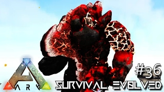 ARK: SURVIVAL EVOLVED - MAGUMA GUARDIAN DEITY OF FIRE !!! E36 (MODDED ARK ANNUNAKI EXTINCTION CORE)