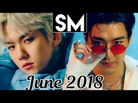 [TOP 100] Most Viewed SM MVs [June 2018]