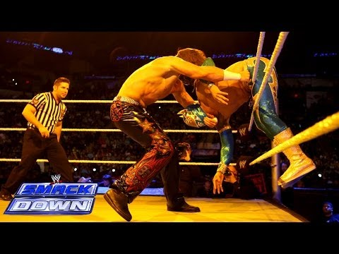 Sin Cara Vs. Drew McIntyre: SmackDown, Dec. 20, 2013 - Smashpipe Sports