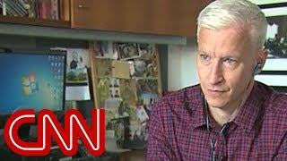 Anderson Cooper tries a schizophrenia simulator