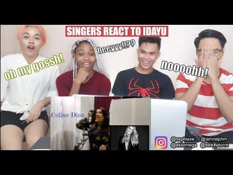 SINGERS React to Idayu Mimic Stars Part 1 & 2