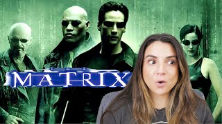 Watching The Matrix for the First Time Ever! // Reaction & Commentary // I'm taking the blue pill...