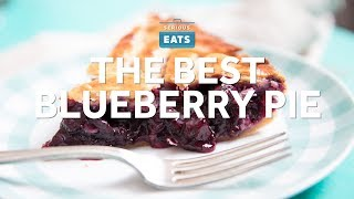 How to Make the Best Blueberry Pie