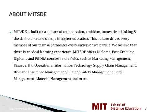 Distance Management Courses   Correspondence MBA   Distance MBA in Satara