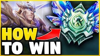 HOW TO SOLO CARRY EVERY GAME WITH GAREN IN SEASON 8! (UNBEATABLE STRATEGY) - League of Legends