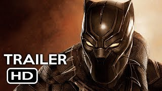 Black Panther Official Trailer #1 (2018) Chadwick Boseman Marvel Movie HD