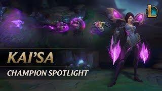 Kai'Sa Champion Spotlight   Gameplay - League of Legends