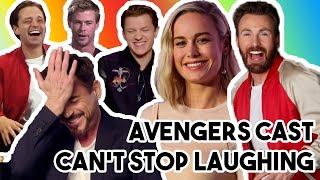 AVENGERS: ENDGAME CAST ARE THE BIGGEST TROLLS   FUNNY MOMENTS 2019