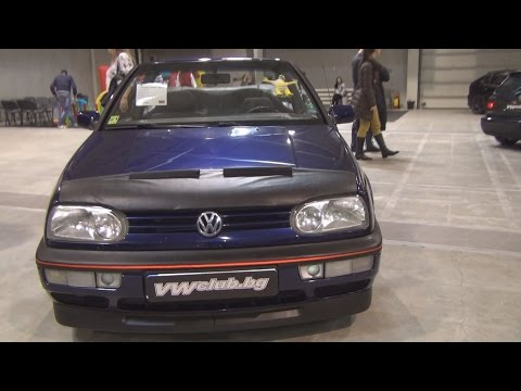 Volkswagen Golf Mk3 Cabrio 1.8 (1994) Exterior and Interior in 3D