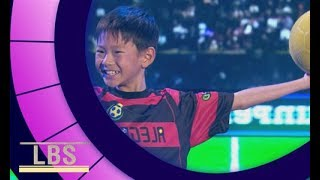 Meet Soccer Trick Expert Shun-P | Little Big Shots Aus Season 2 Episode 8