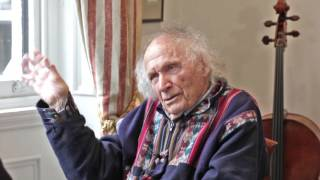 Ivry Gitlis's 'Sancy' Stradivari & Tales from his Career