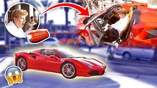 HE'S 15 YEARS OLD & BOUGHT A $350,000 FERRARI (FIRST CAR!)