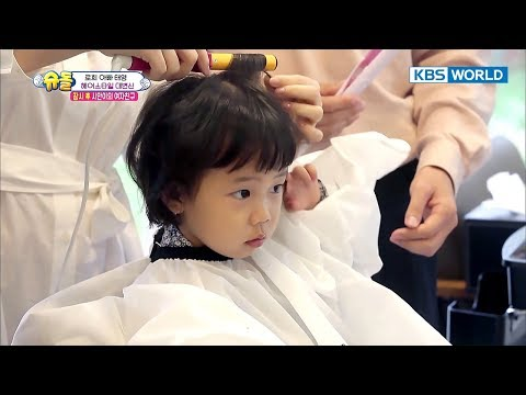Rohee's new hairstyle! Cuteness overload! [The Return of Superman/2017.10.29]