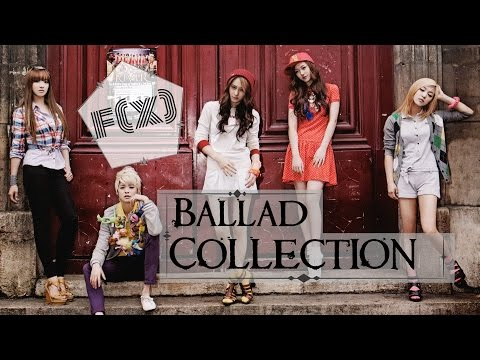 f(x) (에프엑스) - Ballad Songs Collection