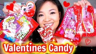 Thử Ăn Vặt Kẹo Tình Yêu   TRY VALENTINES CANDY ♡ BeeSweetiee