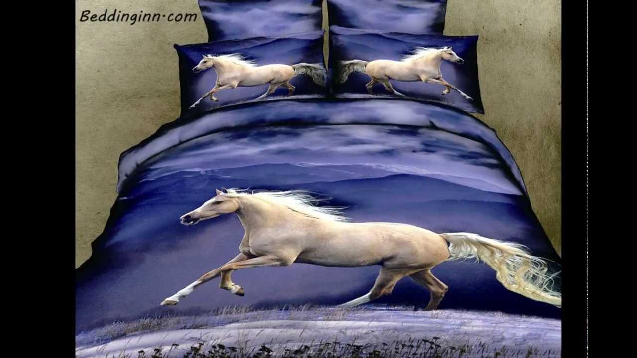 3d Realistic Animal Print Bedding Sets Youtube