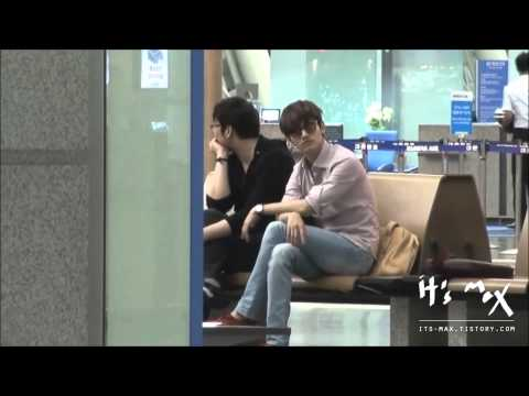 Changmin airport fashion