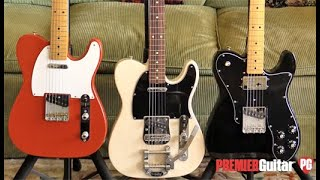 First Look - Fender Vintera '50s, '60s & '70s Telecasters
