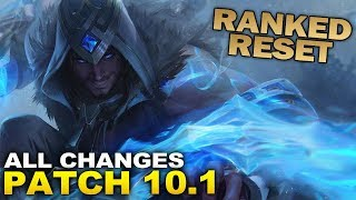 RANKED RESET & ALL 10.1 Changes ready for Season 10