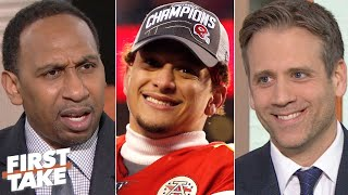 Stephen A. and Max react to Patrick Mahomes taking the Chiefs to the Super Bowl | First Take