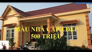 Thăm Quan Mẫu Nhà Cấp 4 Đẹp Diện Tích 12x9m Giá 500 Triệu Tại Ninh Bình