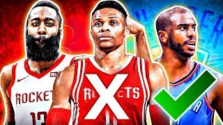The HARD Truth about the Russell Westbrook Chris Paul Trade in the NBA