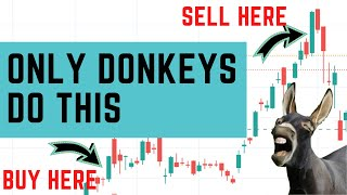 Are YOU a Donkey Investor?   How to invest in the stock market the right way?