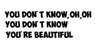 one direction  what makes you beautiful  lyrics