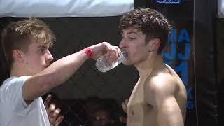 Adrenalin Fight Night Swansea 09.12.17 Fight 12: Zach Holman (Fightworkz) vs Dylan Steel (CRA)