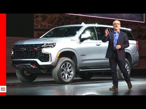 2021 Chevrolet Tahoe & Suburban Unveiling Highlights