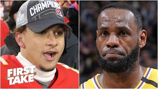 Is Patrick Mahomes or LeBron James the best player in all of sports? | First Take