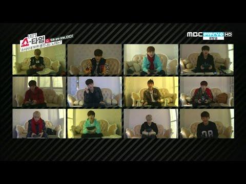 EXO (엑소)  - We are one 도전!! 소녀시대 노래 (Gee+I got a boy+소녀시대)