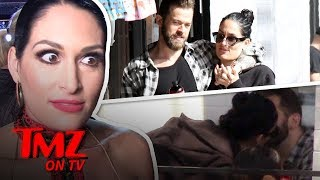 Nikki Bella & New BF Have A Serious Public Makeout Session | TMZTV