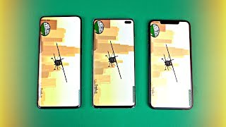 OnePlus 7 Pro vs Samsung Galaxy S10 Plus vs iPhone XS Max - Gaming Comparison!