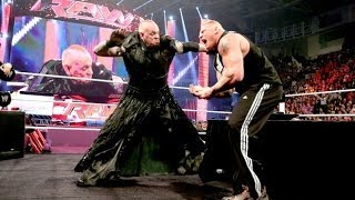 WWE WrestleMania 30 - The Undertaker vs Brock Lesnar Promo 2014