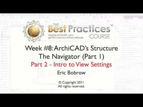 ArchiCAD FUNDAMENTALS Tutorial | Intro to View Settings