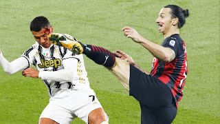 Horror Fights & Red Cards Moments in Football