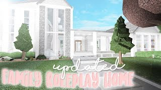 Family Roleplay Home Tour | Updated & Remodeled | Bloxburg Build | alixia